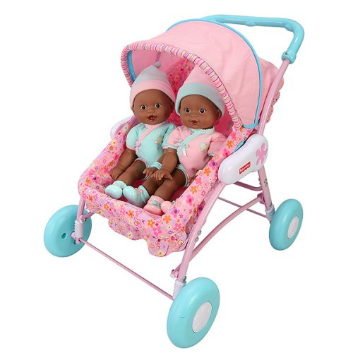 Buy Fisher-Price Newborn Twin Play Set – African American