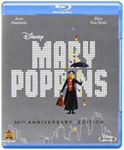 Mary Poppins: 50th Anniversary Edition (Blu-ray + DVD + Digital Copy)