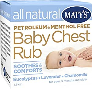 Matys All Natural Baby Chest Rub, 1.5 Ounce