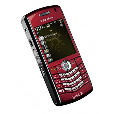 phone gallery, shoping phone,BlackBerry Pearl 8130 Phone, Red (Sprint)