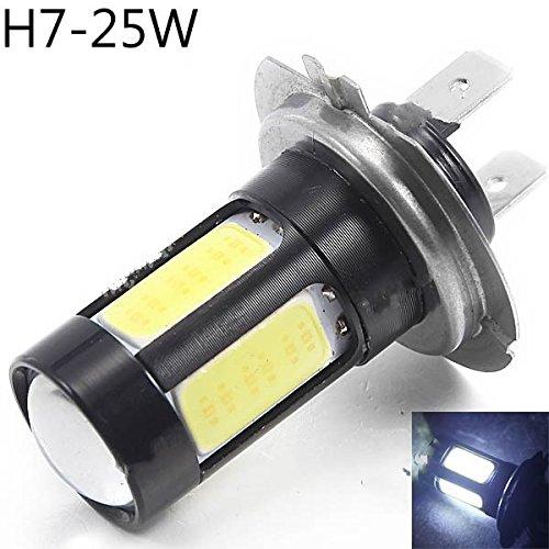 Riorand® Dc 12V H7 25W 5-Cob Led Super Brightness Car White Light Headlight Bulb Rr-296641