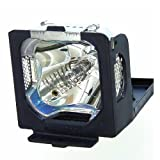 610 295 5712 / POA-LMP37 - Lamp With Housing For Sanyo LC-XM2, PLC-SW20, PLC-SW20A, PLC-SW20AR, PLC-XW20, PLC-XW20B, PLC-XW20E, PLC-20A, EIKI LCSM3, LC-SM4, LC-XM2, PLC-SW20