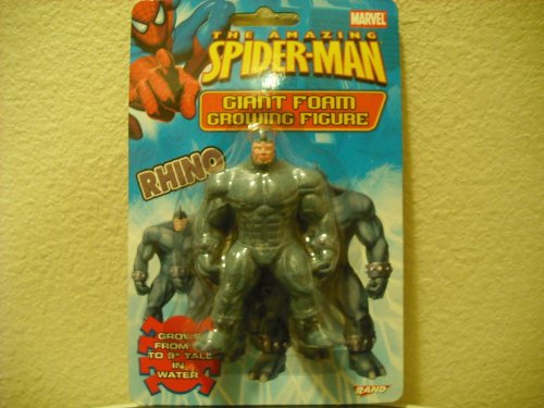 The Amazing Spider-man Rhino Giant Foam Growing Figure