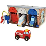 Melissa & Doug Lock and Roll Rescue Truck Garage