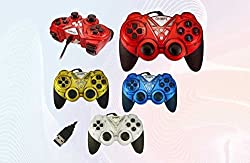 Quantum Turbo Double Vibration Game Pad QHM 7487 Joystick Gamepad Vibrator Dual Shock