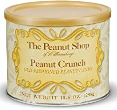 Old Fashioned Peanut Crunch Candy by Peanut Shop of Williamsburg 105 ounce