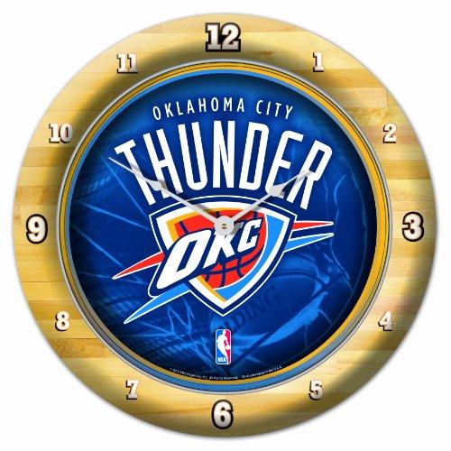 NBA Oklahoma City Thunder Game Time Clock