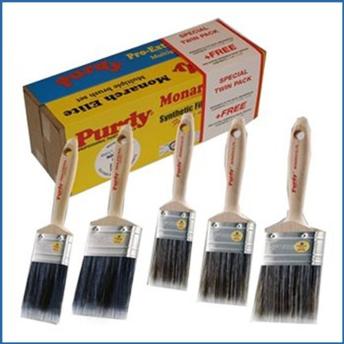 Purdy Monarch Elite and Pro-Extra Monarch Paint Brush Set - 5 Brushes