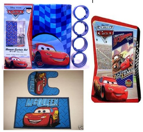 16pc Disney Cars Bathroom Set