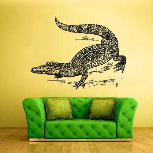 Wall Vinyl Sticker Decals Decor Australia Alligator Crocodile Croc Thailand Skin (Z1523) front-963276