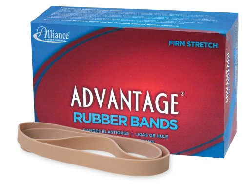 Alliance Advantage Rubber Band Size #107 (7 x 5/8 Inches) - 1 Pound Box (Approximately 40 Bands per Pound) (27075) (Big Rubber Bands compare prices)