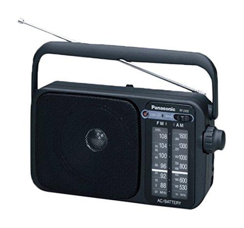 Panasonic-RF-2400EG9-K-Tragbares-Radio-Analog-Tuner-UKWMW-Netz-und-Batteriebetrieb-schwarz