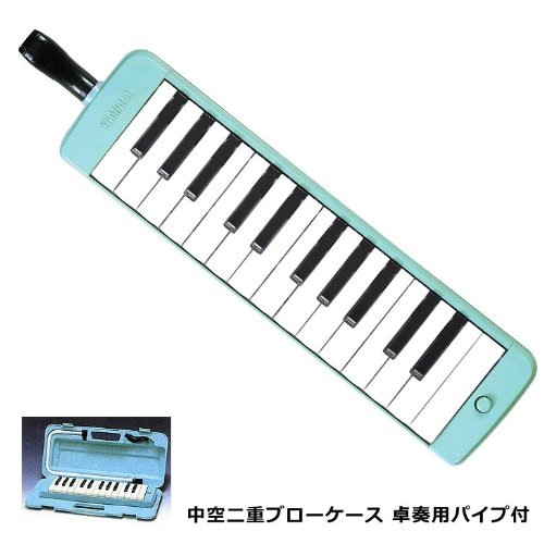 New yamaha pianica keyboard harmonica range octave p s25f p 25f from japan for Yamaha 3 octave keyboard