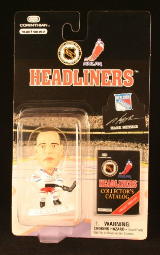 MARK MESSIER / NEW YORK RANGERS * 3 INCH * 1997 NHL Headliners Hockey Collector Figure