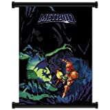 "Super Metroid Game Fabric Wall Scroll Poster (32""x42"") Inches"