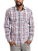 Timezone Camisa Hombre (Rojo)