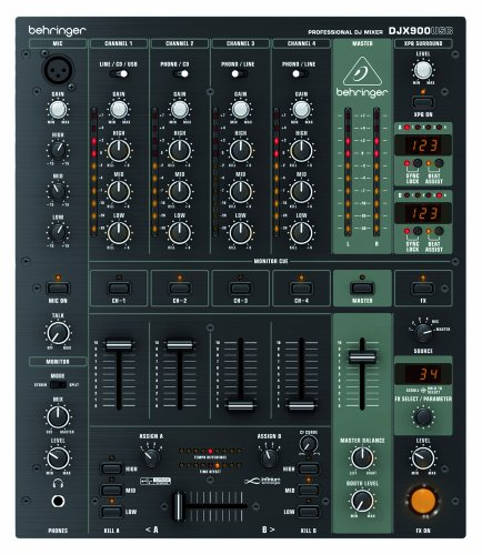 Behringer DJX900USB PRO Mixer Professional 5-Channel