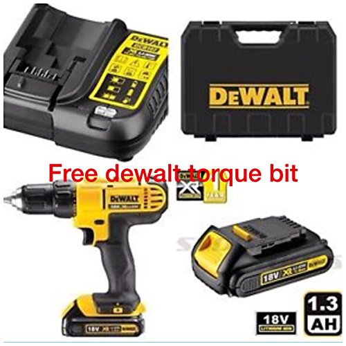 dewalt-18v-cordless-lithium-lxt-combi-drilldrill-driver-with-hammer-action-facility-complete-with-li
