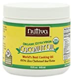 Nutiva Organic Extra-Virgin Coconut Oil, 15 Ounce