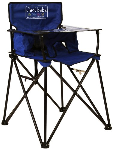 ciao! baby Portable Highchair, Blue