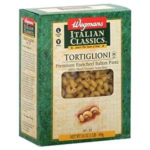 Wgmns Italian Classics Tortiglioni, No. 37, 16 Oz. Lactose Free. Vegan, (Pack of 6)