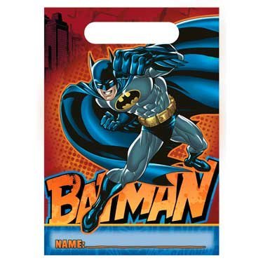 Batman Heroes and Villains Treat Bags (8) Party Accessory at Gotham City Store