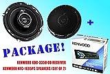 PACKAGE ! Kenwood KDC-335U CD-Receiver + Kenwood KFC-1695PS Car Speakers