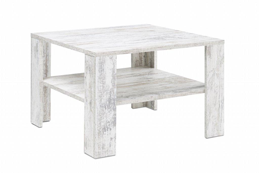 Presto mobilia 11055 Couchtisch Beistelltisch Tisch Kolja 67 x 67 x 44 cm, canyon / weiß / pinie    Rezension