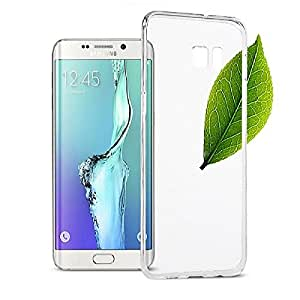 Heartly Ultra Thin 0.3mm Clear Transparent Flexible Soft TPU Slim Back Case Cover For Samsung Galaxy S6 Edge+ Plus