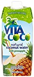 Vita Coco 100% Natural Coconut Water with Pineapple 500 ml (Pack of 6)
