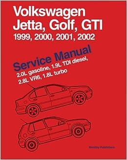volkswagen jetta golf gti service manual 1999 2002 2. Black Bedroom Furniture Sets. Home Design Ideas