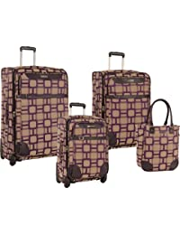 "Ninewest Luggage Super Sign 4 Piece Luggage Set (16""/20""/24""/28"")"