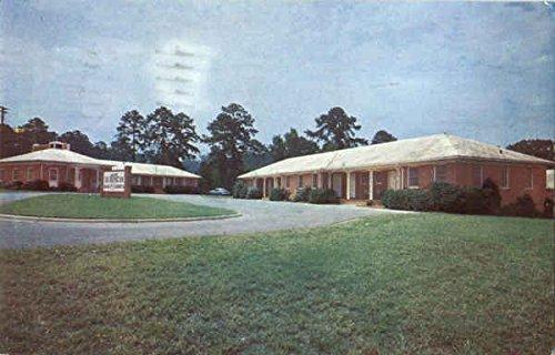 The Outpost Inn Columbus Georgia Original Vintage Postcard