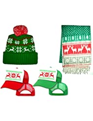 Reindeer Sweater Party Beanie Trucker