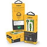 MStick Capriccio Super Bass In-Ear Universal Earphones Headphones With Mic- Green Color