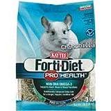 Kaytee Forti Diet Pro Health Food for Chinchillas, 3-Pound