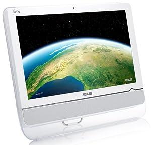 Asus Eee Top ET2002T 50,8 cm (20 Zoll) Touch-Desktop PC (Intel Atom N330 1.6GHz, 2GB RAM, 320GB HDD, NVIDIA ION, DVD, Win 7 HP) weiß