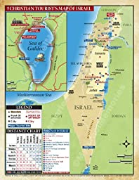 The Israel LAP MAP for the Christian Traveler