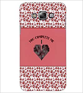 PrintDhaba Quote D-4150 Back Case Cover for SAMSUNG GALAXY E7 (Multi-Coloured)