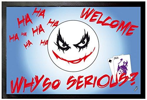 Emoticon - Emoji, Joker, Why So Serious Zerbino (60 x 40cm)