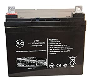 Everest & Jennings Navigator 12V 33Ah Wheelchair Battery - This is an AJC Brand™ Replacement