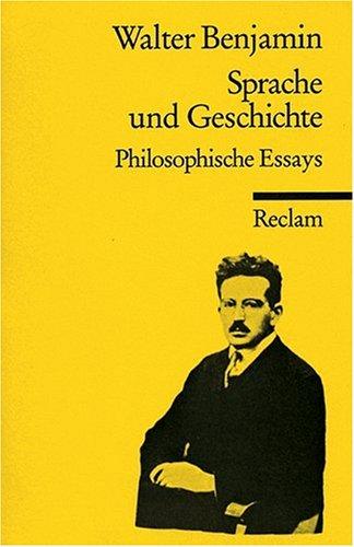 Sprache und Geschichte: Philosophische Essays