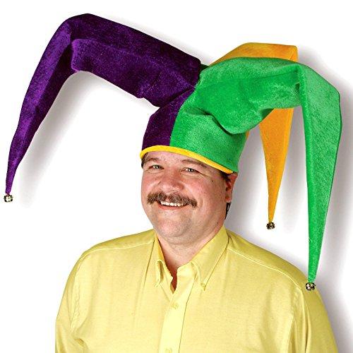 Plush Floppy Jester Hat Party Accessory (1 count) (1/Pkg)
