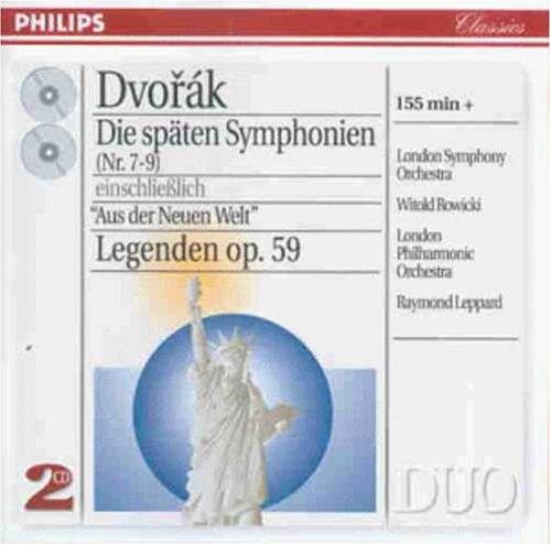 Dvorak, symphonies autres que la 9ème, du nouveau monde 517VPjteULL._500_