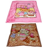 IndiWeaves 2 Double Ply Baby Blanket Offer -Set Of 2 Baby Blanket