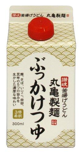 丸亀製麺 ぶっかけつゆ 3倍希釈 300ml×6本