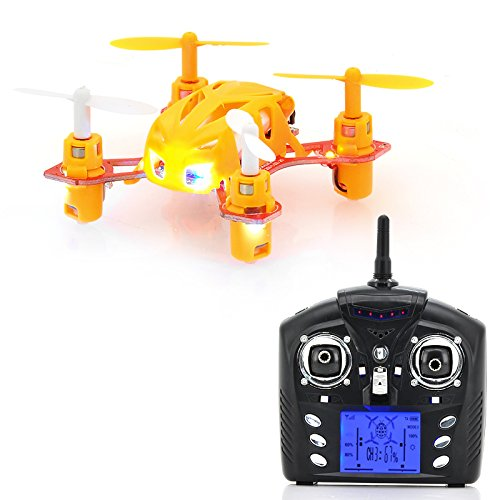 Mini 4 Channel Rc Quadcopter - 2.4Ghz, Usb Charging