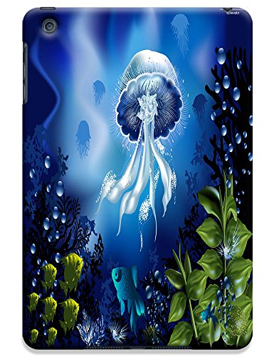 Fantastic Faye Cell Phone Cases For Ipad Mini No.2 The Beautiful Cute Design With Colorful Ocean Fish Jellyfish Dolphin Coral
