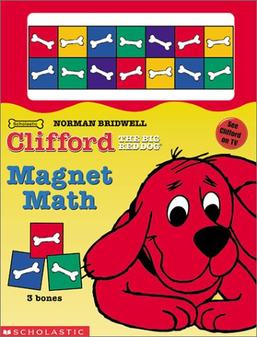 Clifford the Big Red Dog: Magnet Math (Board Book with Magnets)