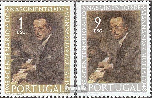 portugal-1082-1083-completeissue-1969-jose-vianna-da-motta-stamps-for-collectors